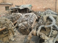 used engines and gearbox OM422