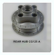 China CG125 oem motorcycle rear wheel hub with die casting foundry