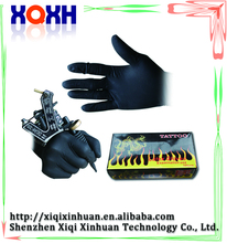 High quality 100pcs tattoo disposable medical gloves disposable latex gloves with free tattoo supply samples