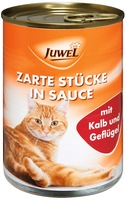 Juwel Cat whole food with - Veal & Poultry