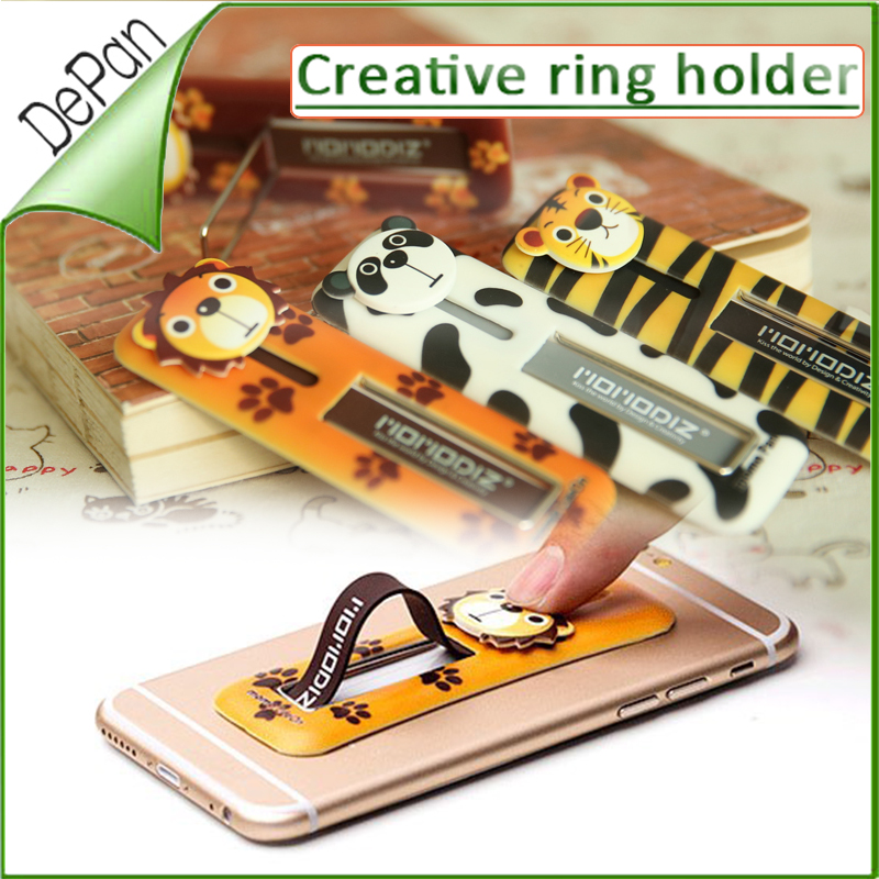 New products 2016 multi band finger grip cell phone credit card holder