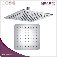 High quality hand shower head for high qualiy hotels ! Save water use without any claims ! 200*200*4mm MS-TSB035XQ