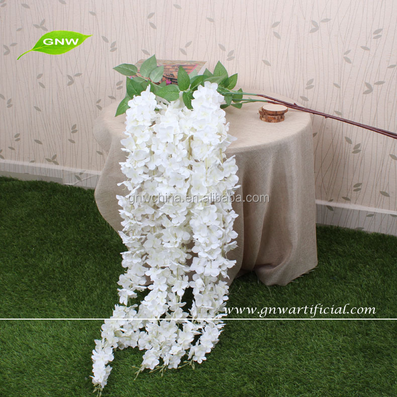 GNW FLW1503 High quality artificial wisteria flower vine decoration