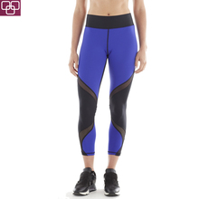 OEM Service Top USA Women Spandex 7/8 Pants High Compression Slim Capri Pants