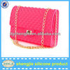 """ShengJie"" fashion silicone shoulder bag/ silicone bags handbags"