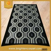 Machine made polyester decoration home mat