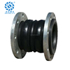 Shock absorber 6 inch rubber expansion joint flexible couplings rubber bellow expansion