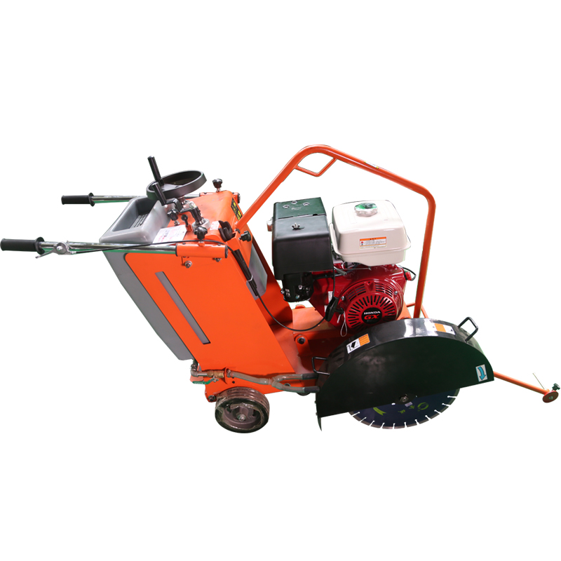 Professional concrete saw cutting machine