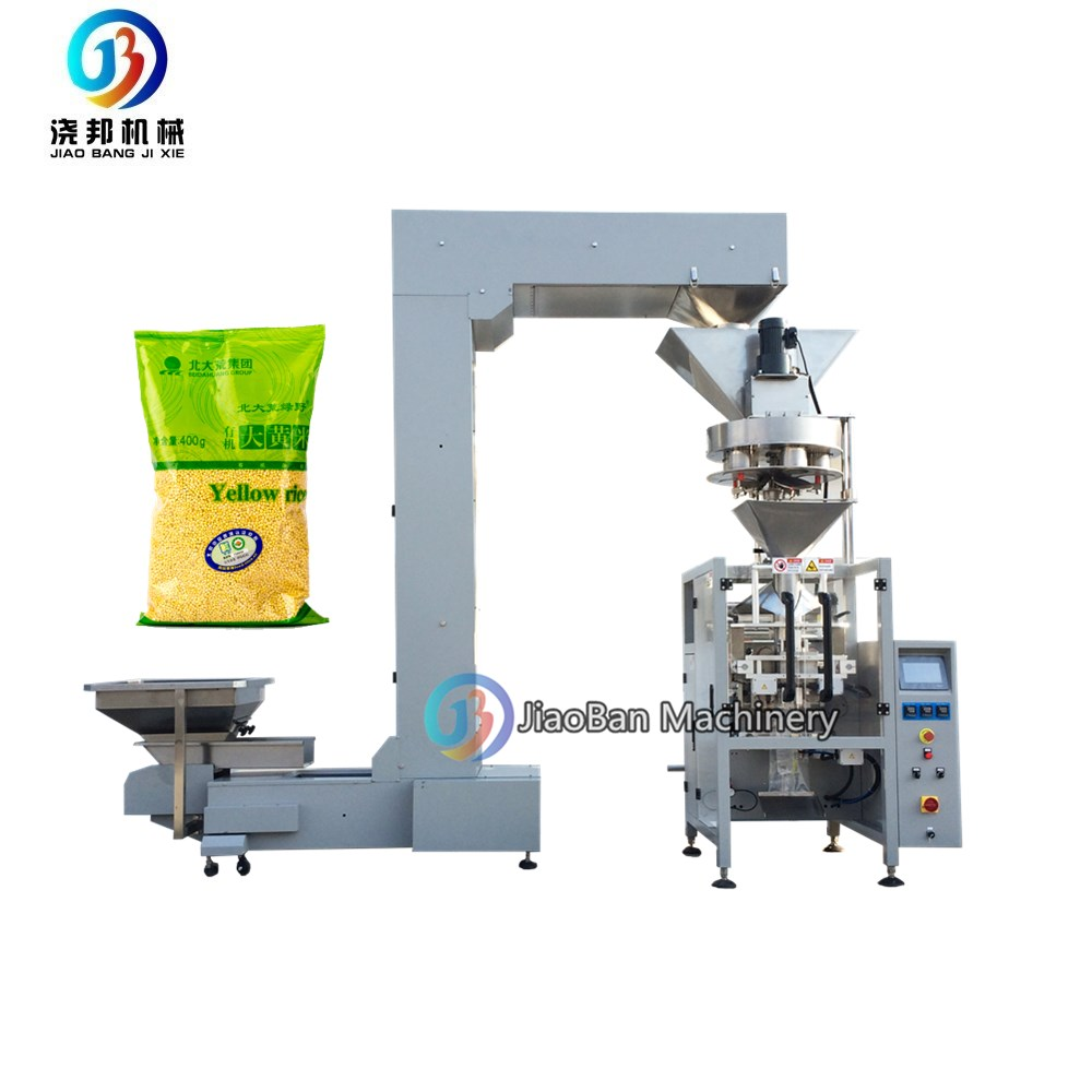 JB-420L Automatic cup filler packing machine for 1kg <strong>rice</strong> and grain