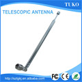 Manufacturer handheld 7 sections 440mm F connector am telescopic antenna for TV and radio