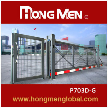 15 YEARS FACTORY! Automatic cantilever gate
