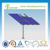 Solar Panel mount system Single Pole standing