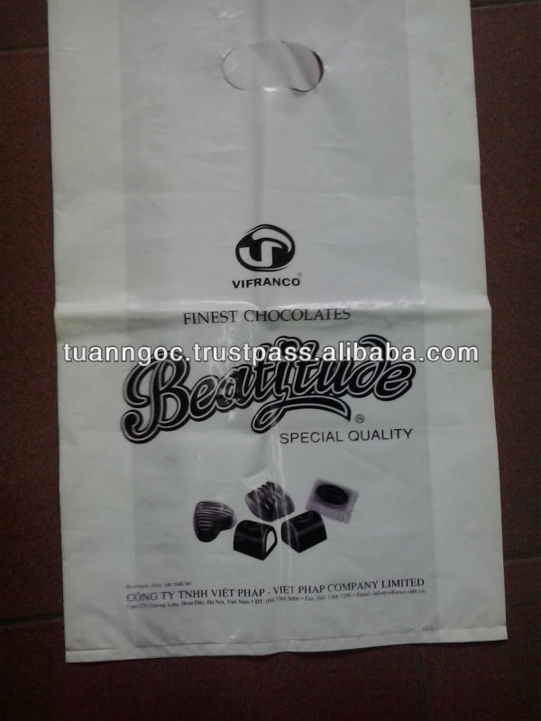 Producing as you design/ Plastic bag for candy food/ shopping bag
