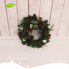 GNW CHWR-1605024 natural made christmas decorations made in China cheap Christmas wreaths