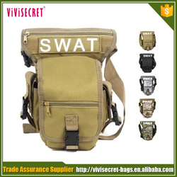 2016 New men army military waist motorcycle leg bag wholesale