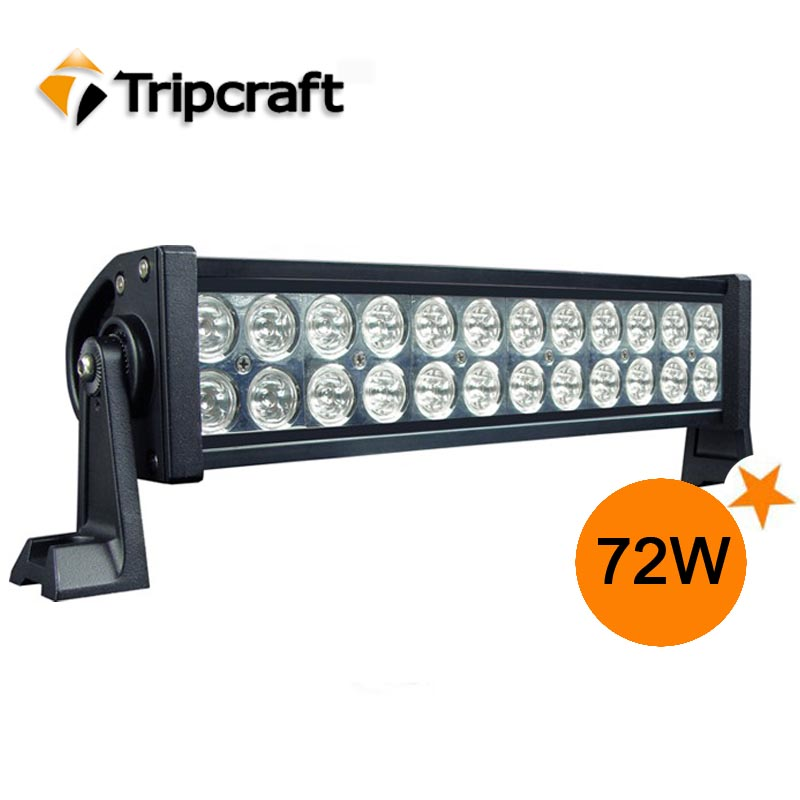 Best price!!! 72W High Power LED Work Light for JEEP Truck 4WD Off Road Vehicle -12V&24V 4X4 LED DRL