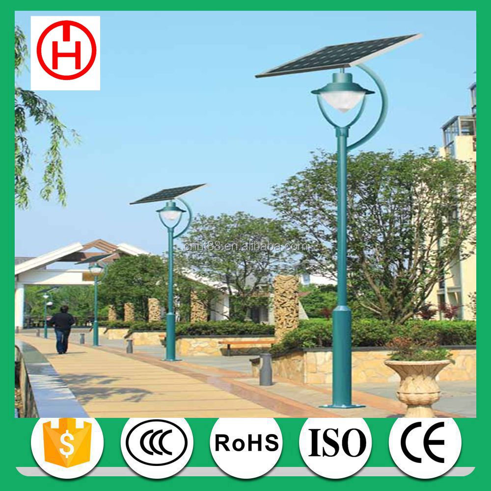 5w 10w 15w 20w 3m 4m 5m pole solar led garden light with CE CQC CCC AAA ISO certification