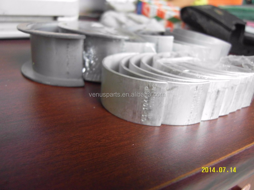 QR20 engine main bearing con rod bearing
