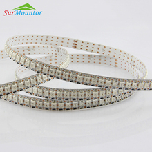 hot sale 144 led pixel strip WS2812 RGB 5050 led strip programmable lighting led strip kit addressable