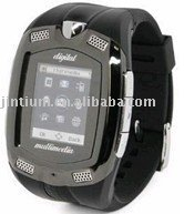 Watch mobile phone with camera and memory card --- M810
