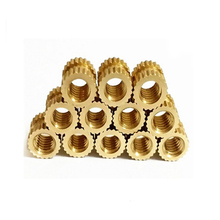 high precision brass knurled inserts for plastic