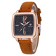 WJ-7688 Made In China Watch Supplier Wholesale Trendy Cheap Leisure Beautiful Leather Band Ladies Casual Watch