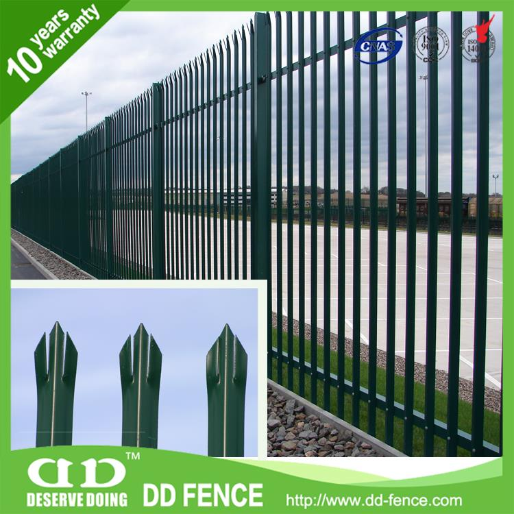 Galvanised Steel Fencing Panels / Decorative Fence Ideas / Steel Gate Design