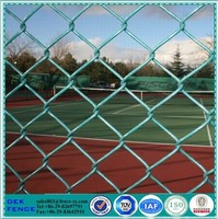 PVC coted power coated epoxy coated chain link fence