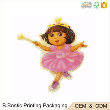 Custom high quality hot selling cheap kids cute PVC puffy 3M sticker