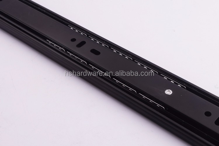 Office furniture accessories drawer slide telescopic rail 4208