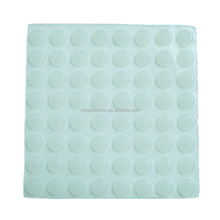 Self adhesive rubber bumpers silicone rubber pads for furniture
