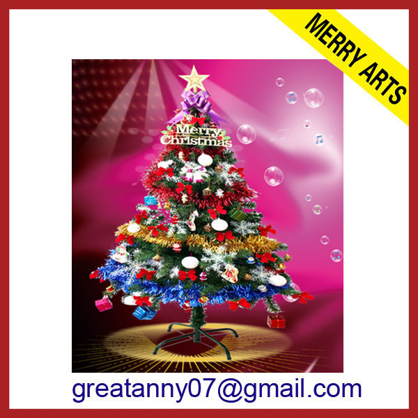 2014 wholesale new style artificial flocked christmas trees christmas tree machine