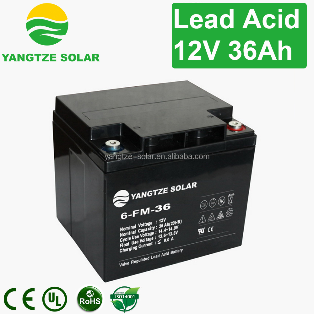 12v 36ah solar energy storage battery