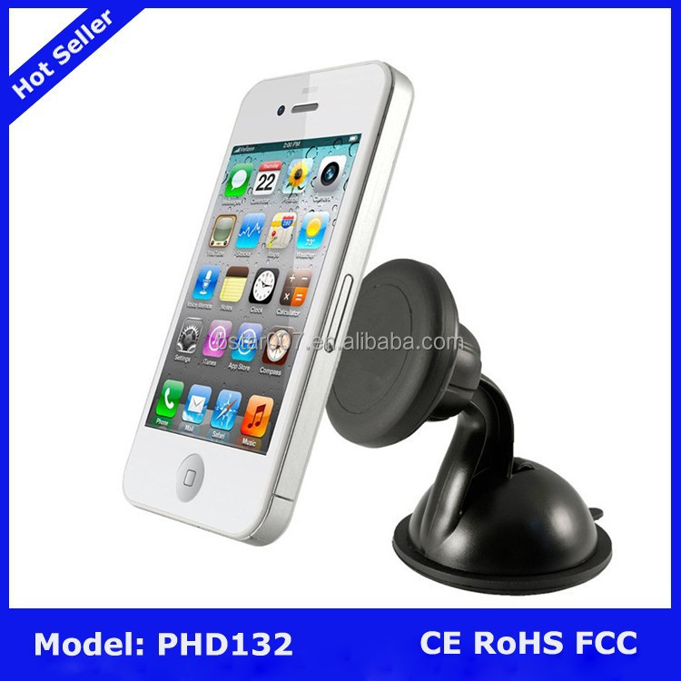 Universal Magnetic Windscreen Car Phone Holder for iPhone 6 for samsung galaxy note 4 s5