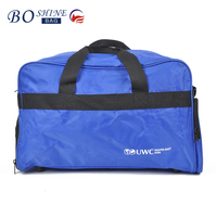 Factory Directly Cheap Professional 70D PVC Foldable Travel Bag ,Luggage Bag Non-Slip Mat