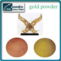 ZG-1102 decorative paint speciality beautiful gold color good metallic effect golden powder