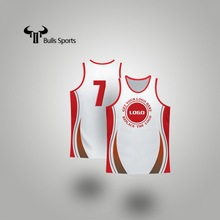 China supplier competitive professional running singlets for men custom