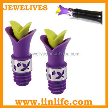 List small business ideas silicone metal wine bottle plug