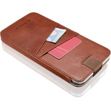 Fashion mobile/cell phone leather case credit card holder for iPhone 6/iPhone 6S/iPhone 7