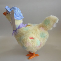 Hot selling Animated Eater Plush Toy Chicken Lays Eggs