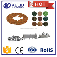 new condition bulk fish food pellets making machine with CE certification