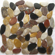 Pebble Tile Flat Matte Multi-color