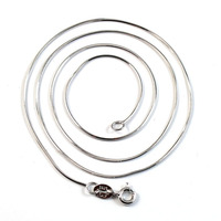 wholesale snake chain 925 italian sterling silver chain 16 18 20inch