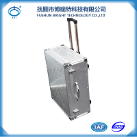 BJX Quality Aluminum Trolley Tool Case box/suitcase/ Luggage