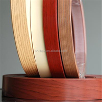 wood and solid color pvc edge tape for furniture parts
