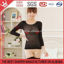 Breast Up Lace Transparent Womens Underwear Sexy Long Johns