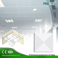 Artistic Delicate Suspended false grid ceiling