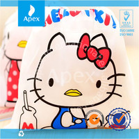 Cute Hello Kitty Polyester Drawstring bag for sale