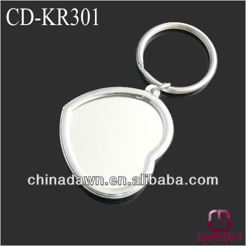 mini heart keychain with mirror gift CD-KR301