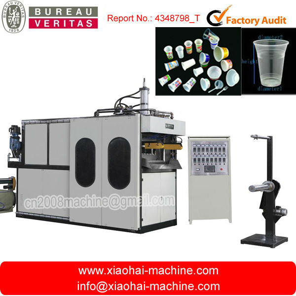 CHINA disposable plastic cup making machine